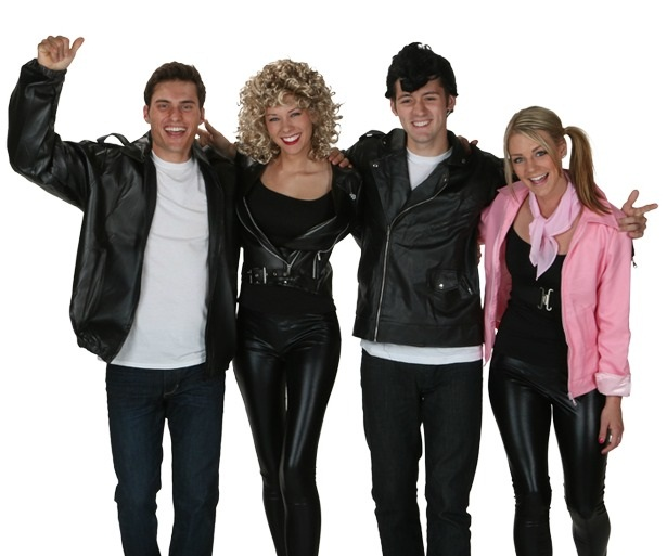 grease group costume - Greece Halloween Costumes