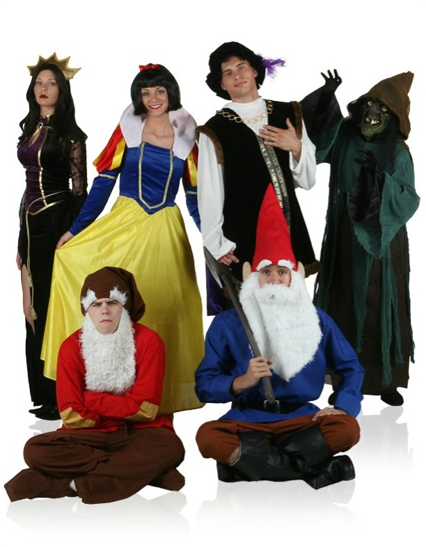 Snow White Group Costume