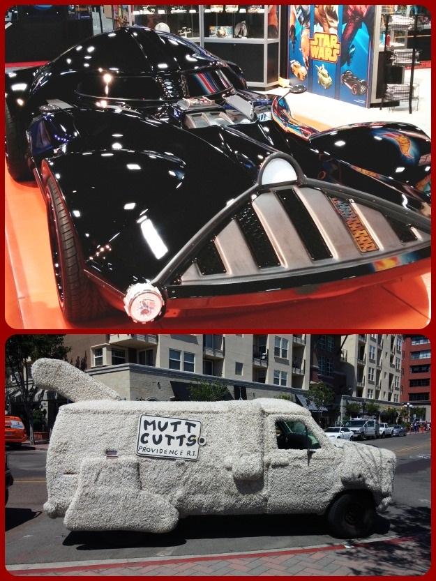 SDCC 2014 Comic Con Vehicles