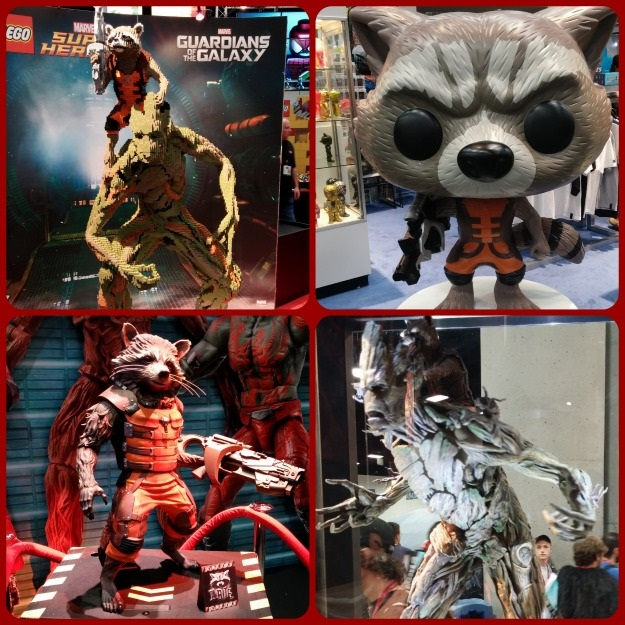 SDCC 2014 Rocket Raccoon