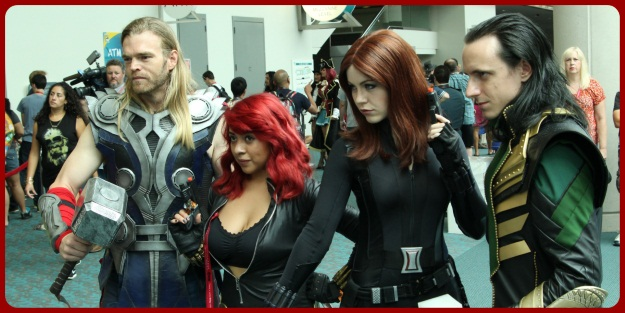 SDCC 2014 Avengers Group Costume