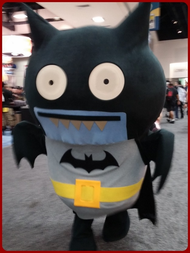 Batman Totoro Costume SDCC 2014