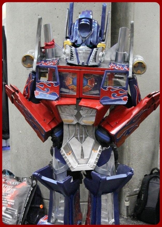 Optimus Prime Costume SDCC 2014