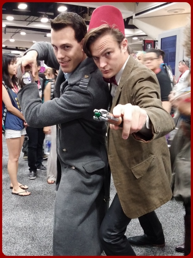 Doctor Who Jack Harkness Costume SDCC 2014
