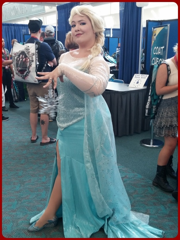 SDCC 2014 Frozen Costume