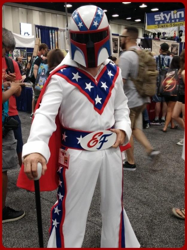Boba Fett Evil Kineval Costume SDCC 2014