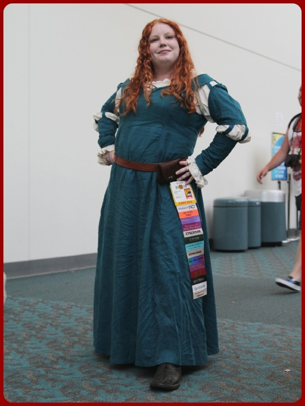 Meredith Brave Cosplay SDCC 2014