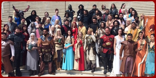 Game of Thrones Group Cosplay SDCC 2014