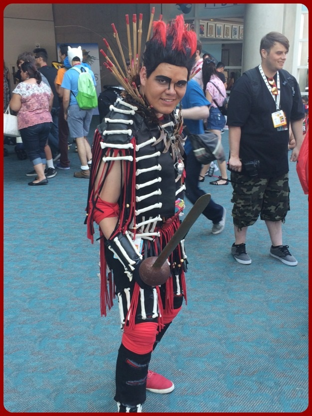 Hook Rufio Costume SDCC 2014