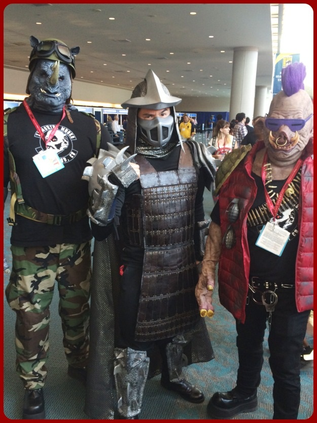 Shredder Group Costume SDCC 2014