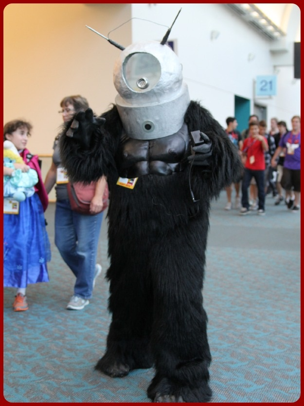 Space Monkey Costume SDCC 2014