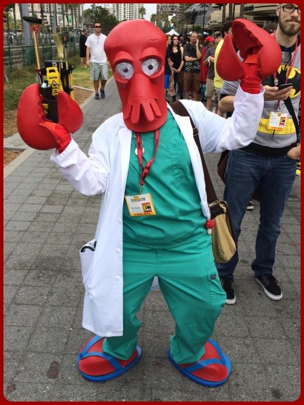 Futurama Zoidberg SDCC 2014 Costume