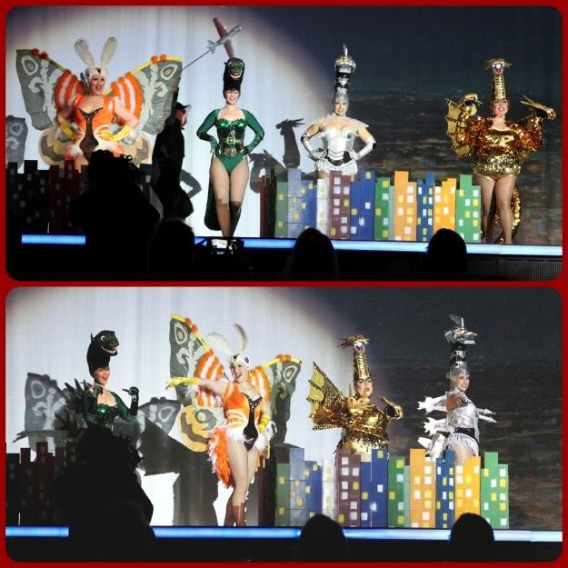 Godzilla Dance Line Costume SDCC