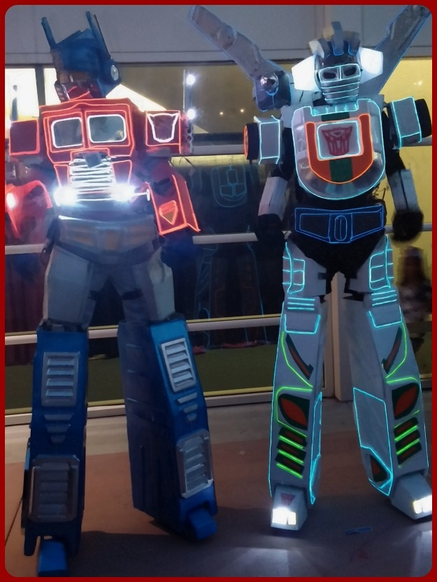 Transformers Light Up Comic Con Costume