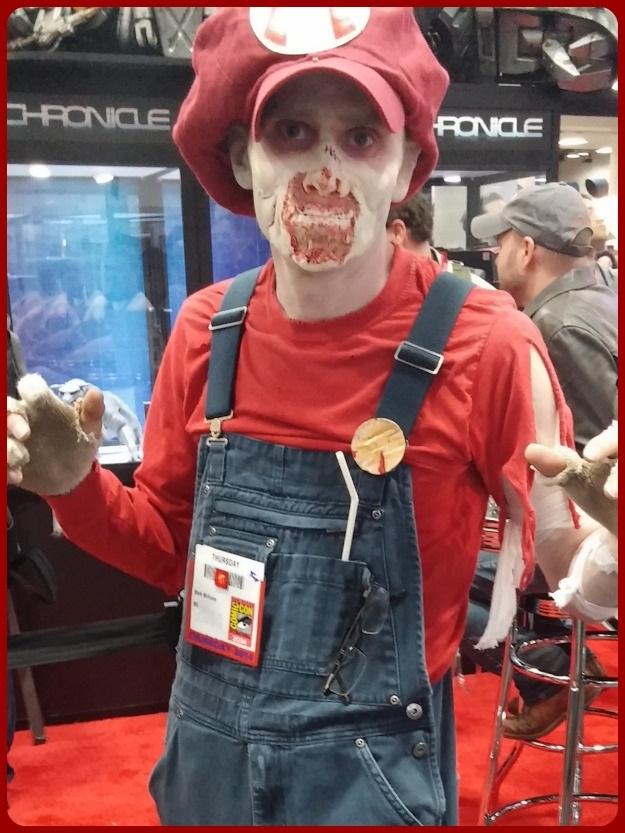 Zombie Mario Costume SDCC 2014