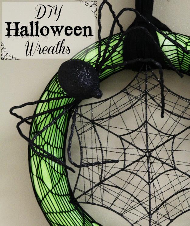 How To DIY Halloween Wreaths