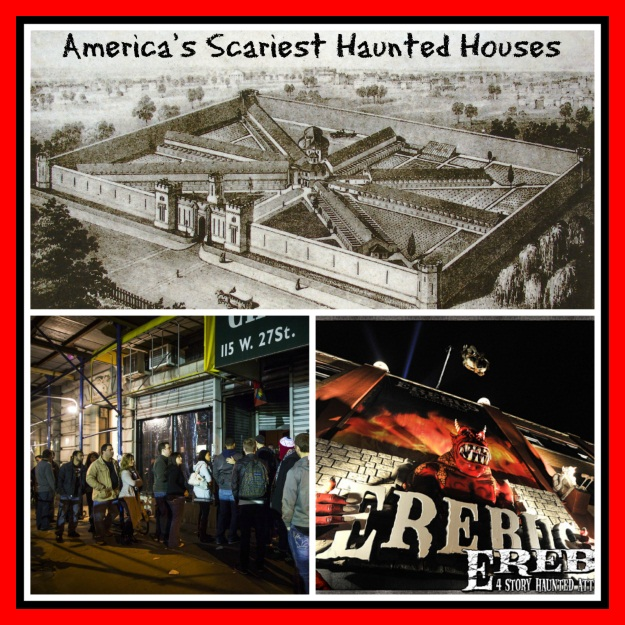 America Haunted Houses Halloween Costumes