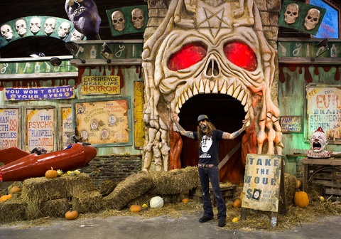 Rob Zombie Haunted House Great American Nightmare