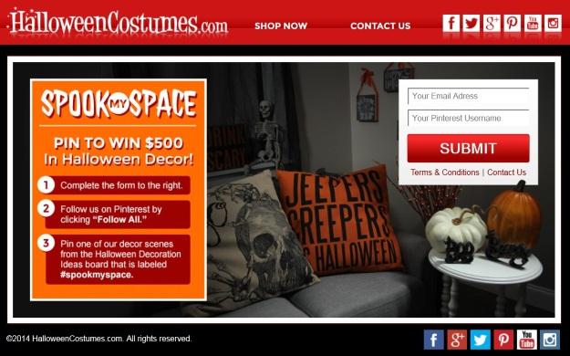 Halloween Decorations Contest #SpookMYSpace