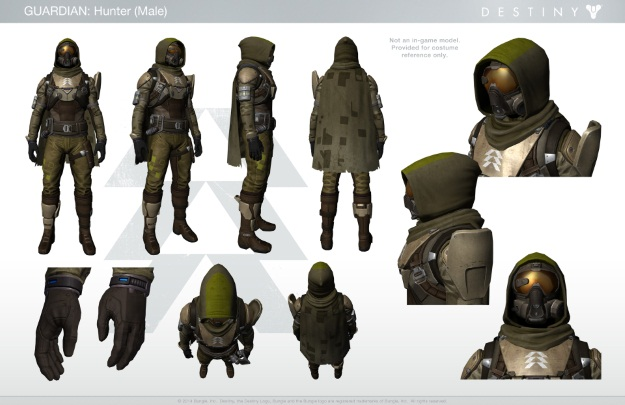 Destiny Hunter Costume Inspiration