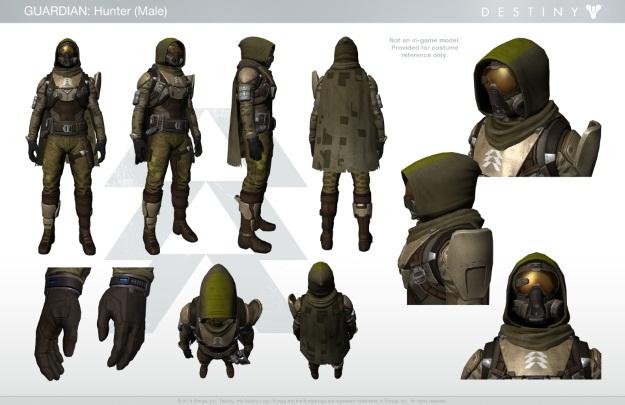 Destiny Hunter Costume Inspiration