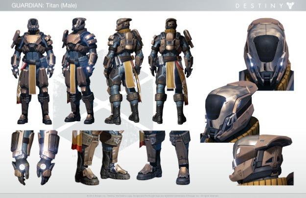 Destiny Titan Character Guide