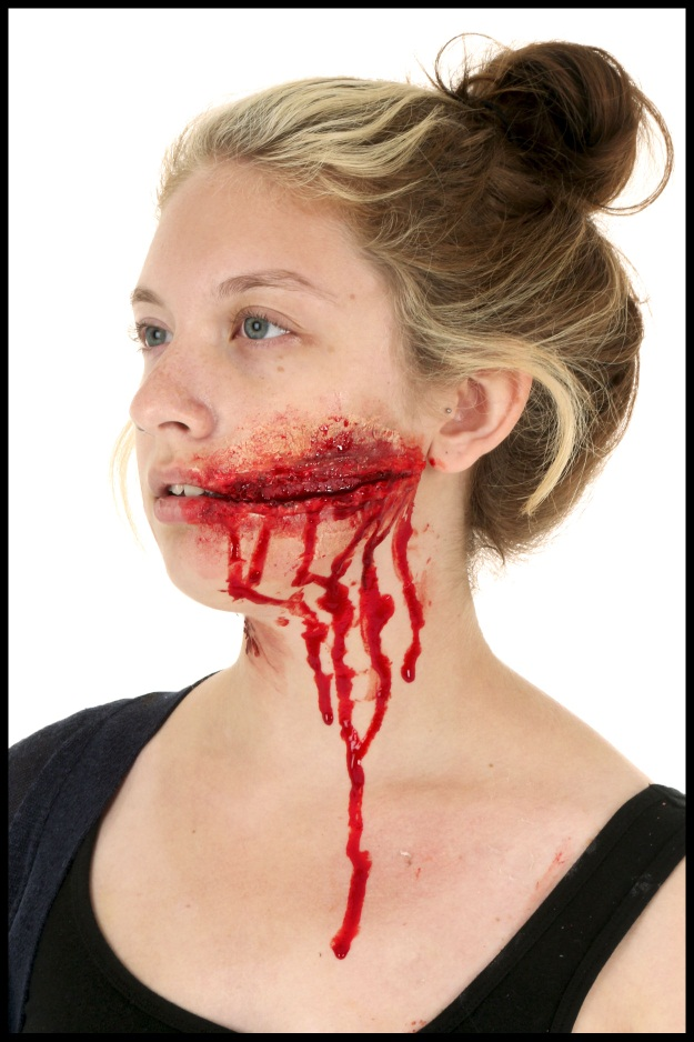 3 DIY Halloween Makeup Effects: Infected Zombie Bite, Burned Skin ...