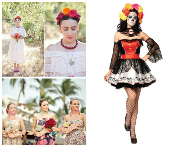 How to Plan a Day of the Dead Themed Wedding - Halloween Costumes Blog