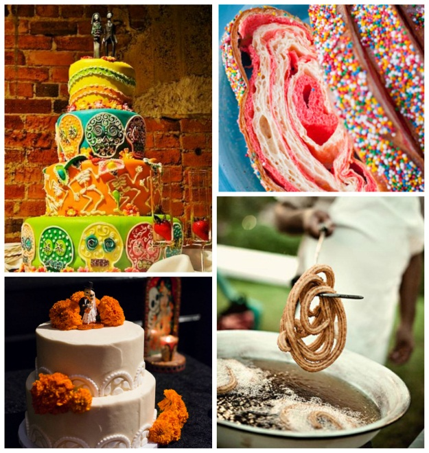 Day of the Dead themed wedding: Jennifer + Brian - 100 Layer Cake