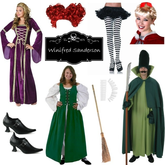 Diy hocus pocus costumes halloween costumes blog diy hocus pocus halloween cosutmes for winifred winnie sanderson purple renaissance gown solutioingenieria