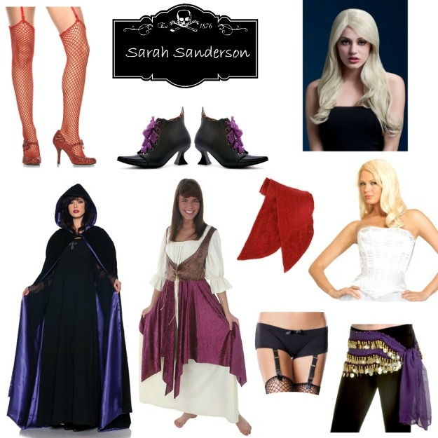 DIY Hocus Pocus Halloween Costume for Sarah Sanderson