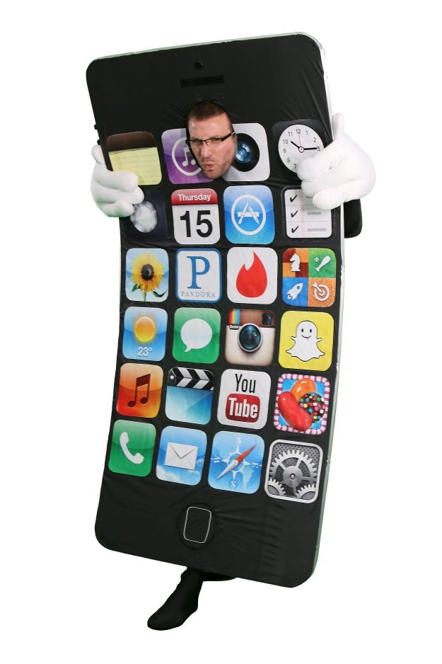 DIY Halloween Costume iPhone 6 Bendgate