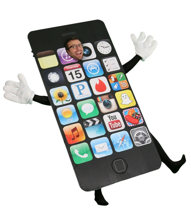 diy halloween costume iphone 6 bendgate