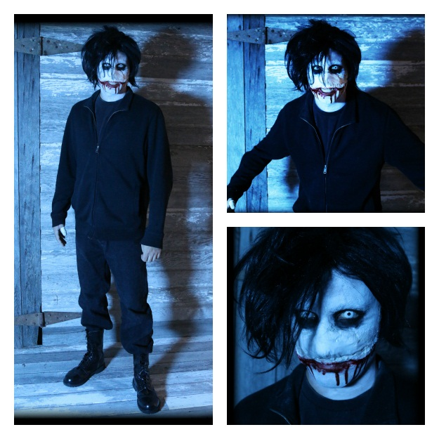 Jeff The Killer DIY Costume Collage
