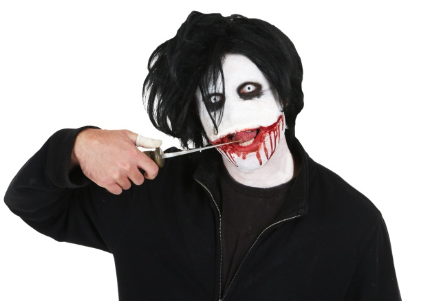 Jeff the Killer Mask Out