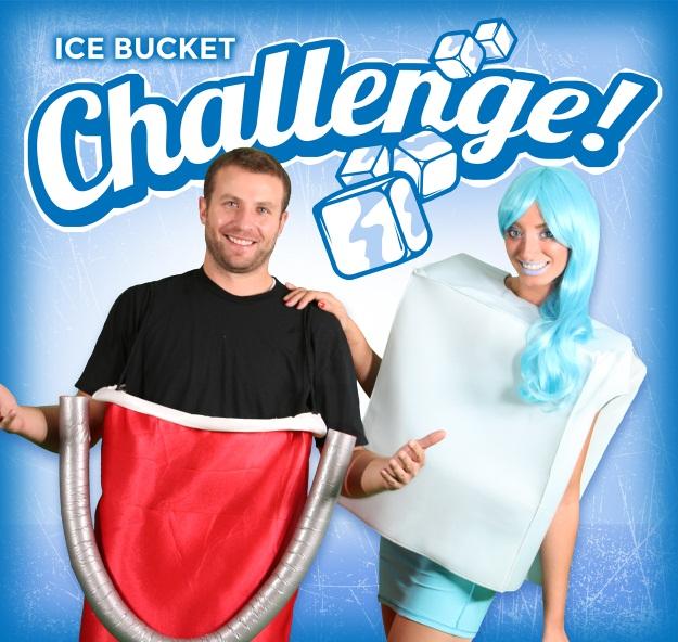 Ice Bucket Challenge Couples Costume