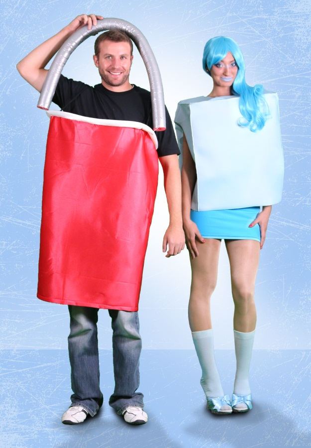 Couples Ice Bucket Challenge Costume