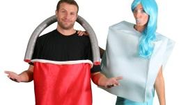 ice bucket challenge costume 2 source ice bucket challenge couples costume idea halloween costumes blog