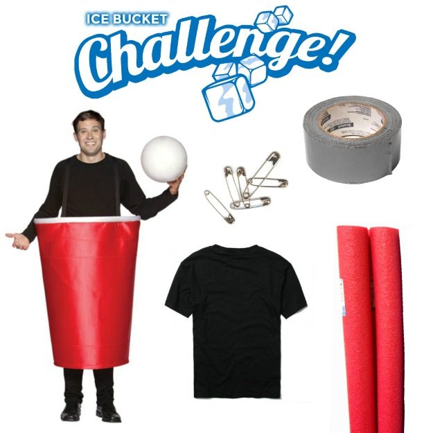 Mens Ice Bucket Challenge Costume