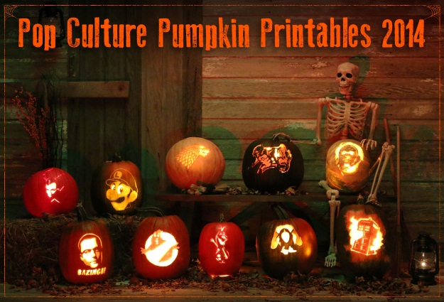 13 Free Pumpkin Carving Patterns for 2014