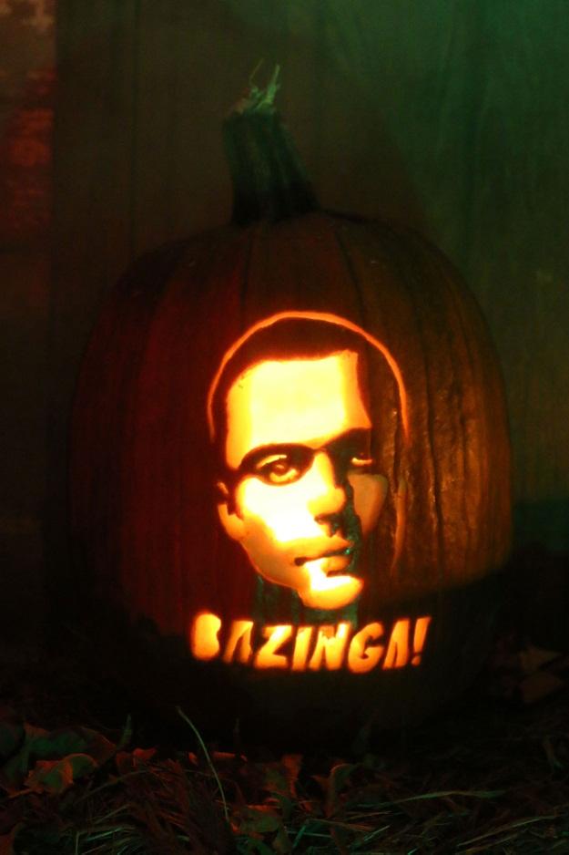Big Bang Theory Pumpkin Pattern