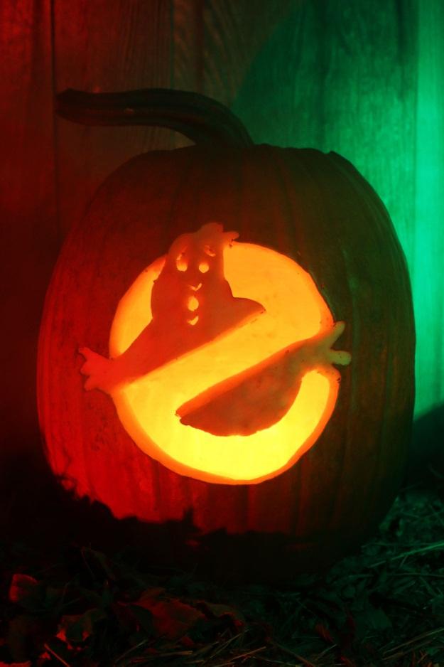 Free Ghostbusters Pumpkin Pattern