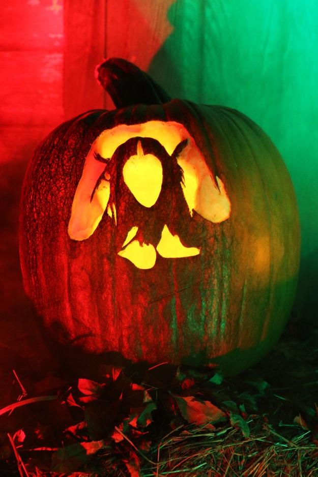 Nicki Minaj Anaconda Pumpkin