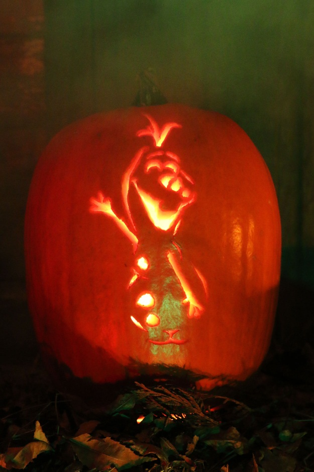 Free Olaf Pumpkin Stencil