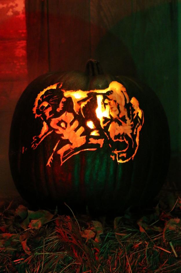 Guardians of the Galaxy Pumpkin Stencil