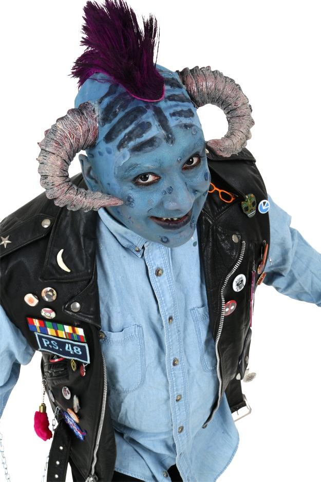 Little Monster Costume DIY Maurice 1