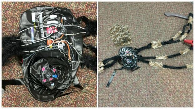 Spider Dog DIY Costume
