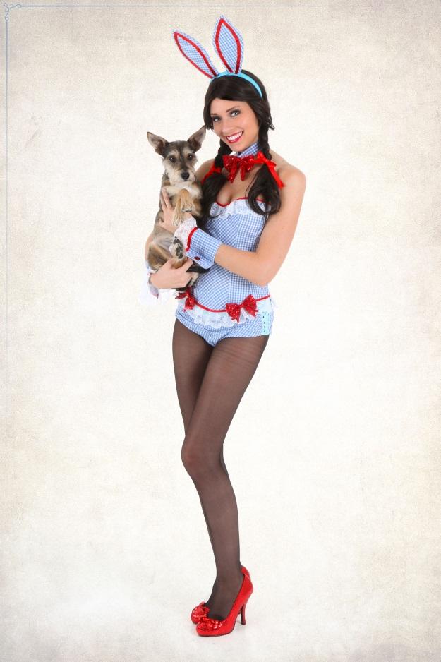 Wizard of Oz Dorothy Playboy Bunny