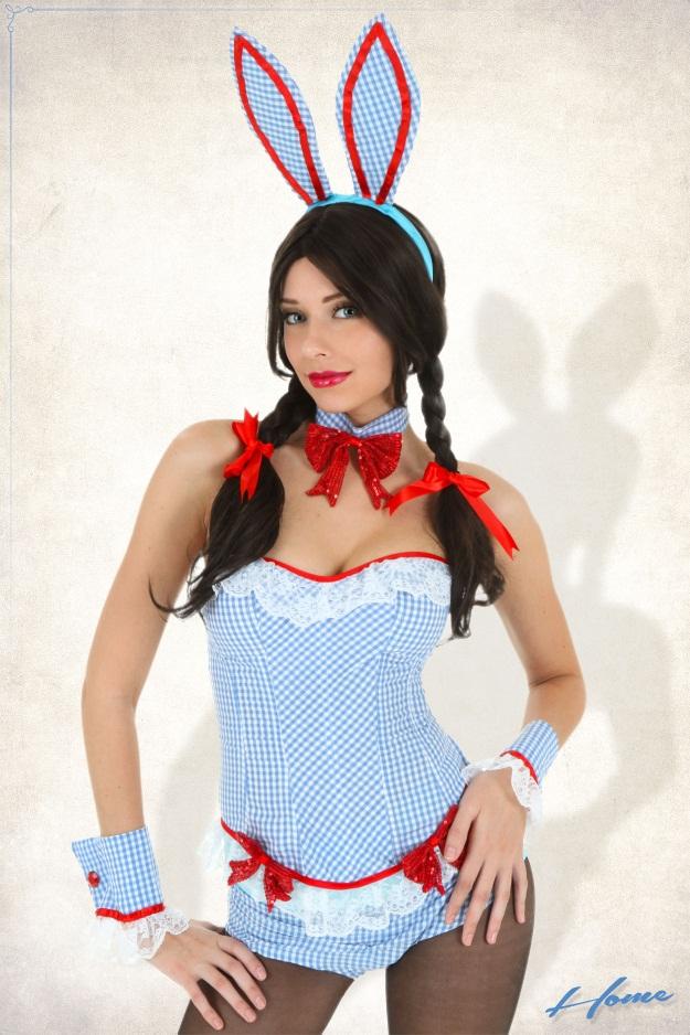 Dorothy as a Playboy Bunny
