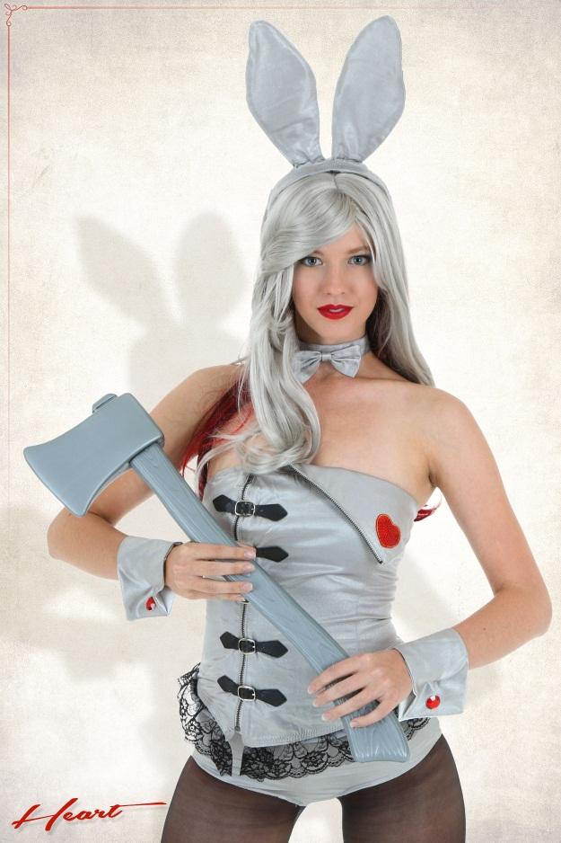 Playboy Bunny Tin Man Costume
